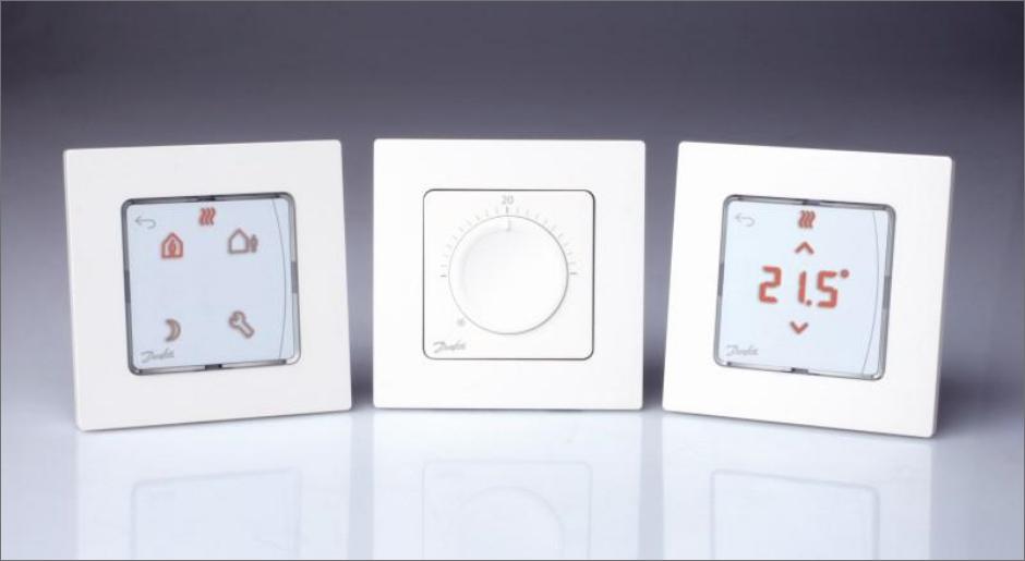 Комнатные терморегуляторы Danfoss Icon
