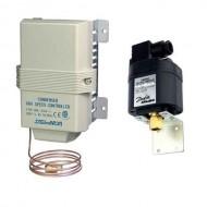 Регулирование скорости вращения двигателей компрессора и вентиляторов конденсатора
