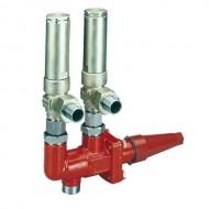 DSV, 3-ходовые запорные клапаны, для предохранительных клапанов