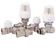 Регулирующая арматура и комплектующие для радиаторов отопления