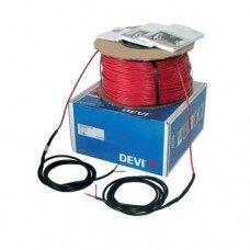 Нагревательный кабель одножильный DEVIbasic 20S