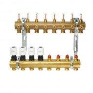 Распределительный коллектор для системы напольного отопления