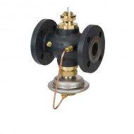 Комбинированные регуляторы расхода с регулирующим клапаном под электропривод